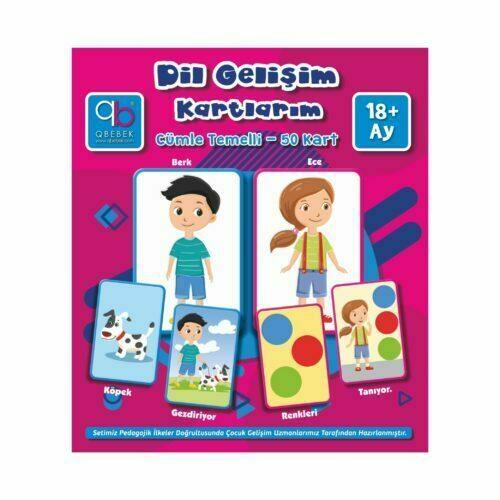 q bebek dil gelişim kartlarım
