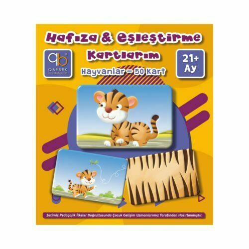 q bebek hafıza & eşleştirme kartlarım hayvanlar