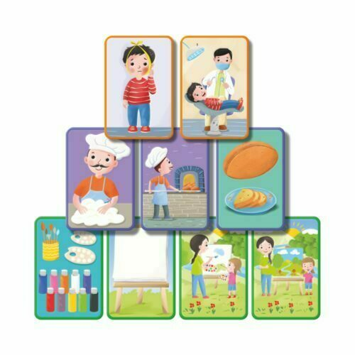 q bebek hikaye & sıralama kartlarım