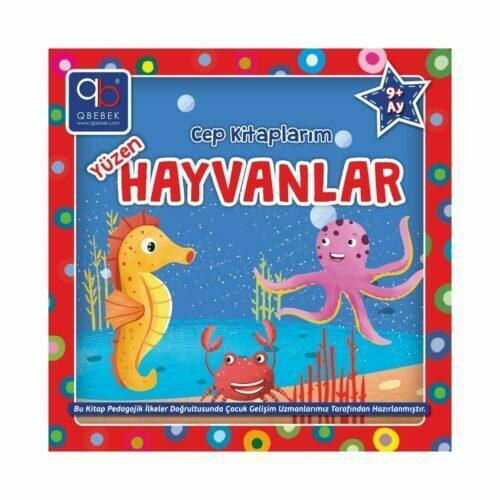 q bebek cep kitaplarım yüzen hayvanlar